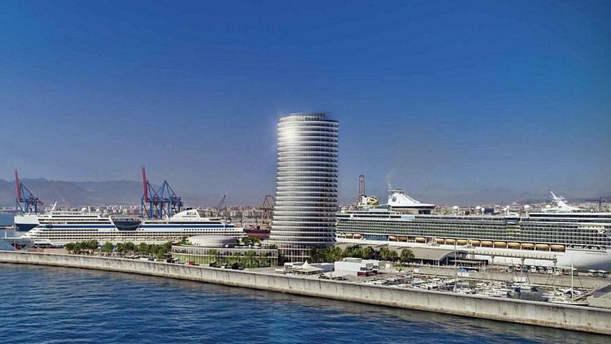 La plataforma DNH explica su oposición a la Torre del Puerto