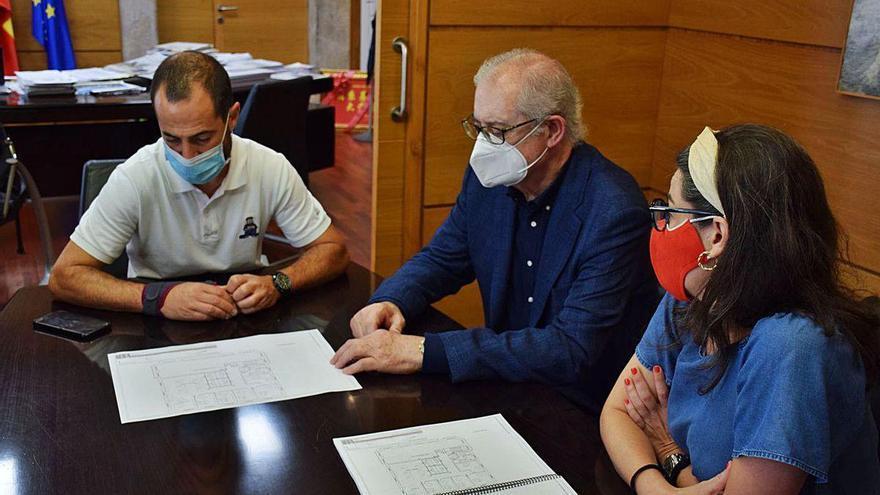La reforma del Ayuntamiento de Siero para ampliar espacios, en marcha