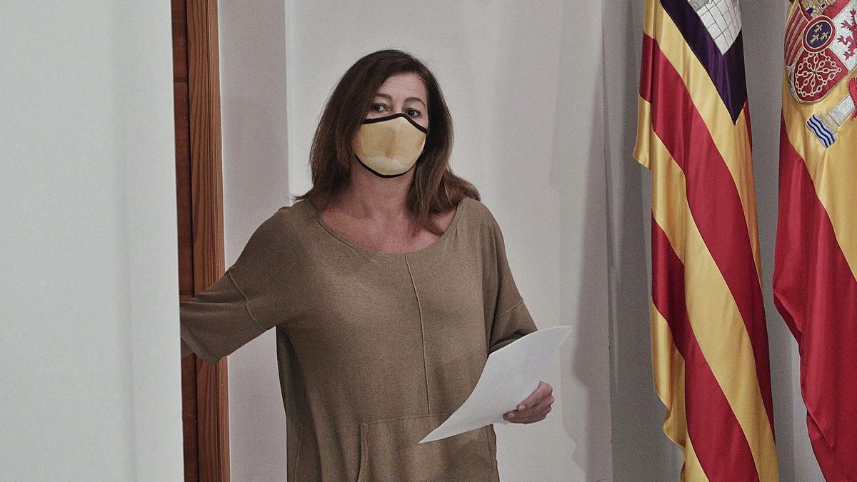 El toque de queda se mantendrá en función de los contagios