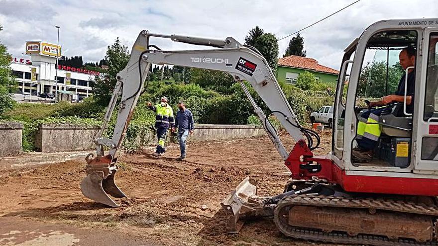 Siero repara la red de agua y prevé mejorar el saneamiento de Granda