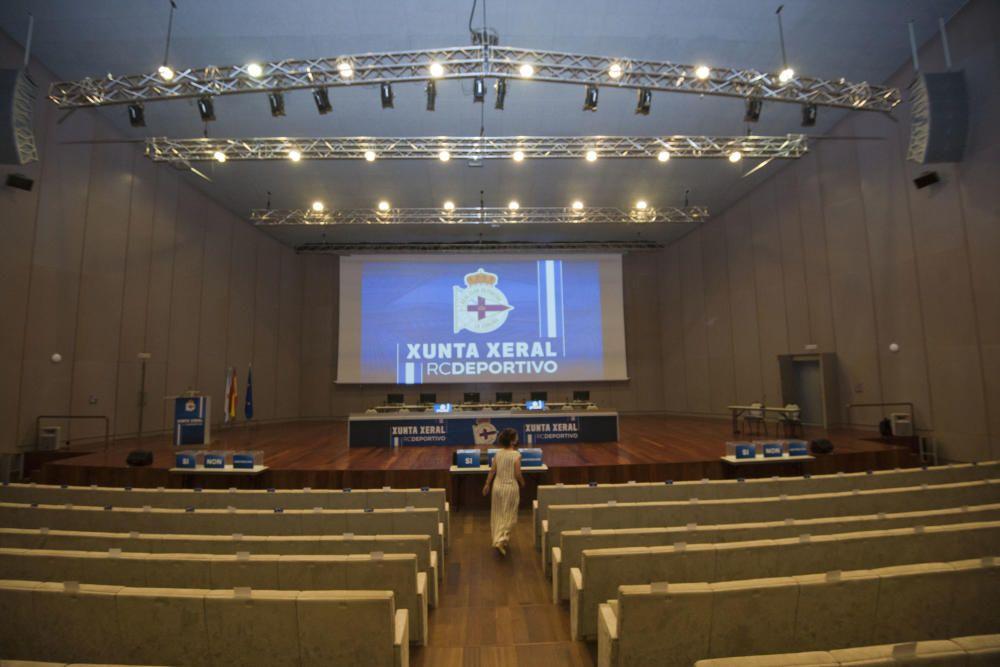 Junta del Dépor: Sin quórum en 1ª convocatoria
