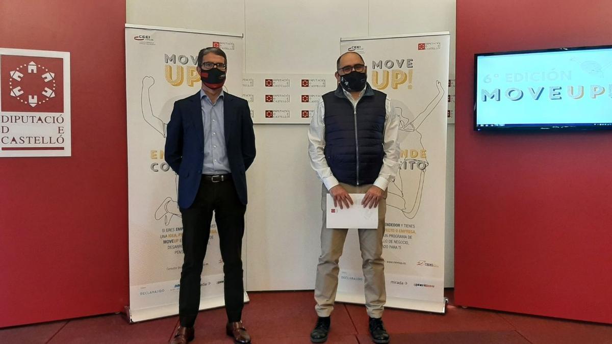 Presentación de la sexta edición de 'Move Up!' en la Diputación de Castellón.