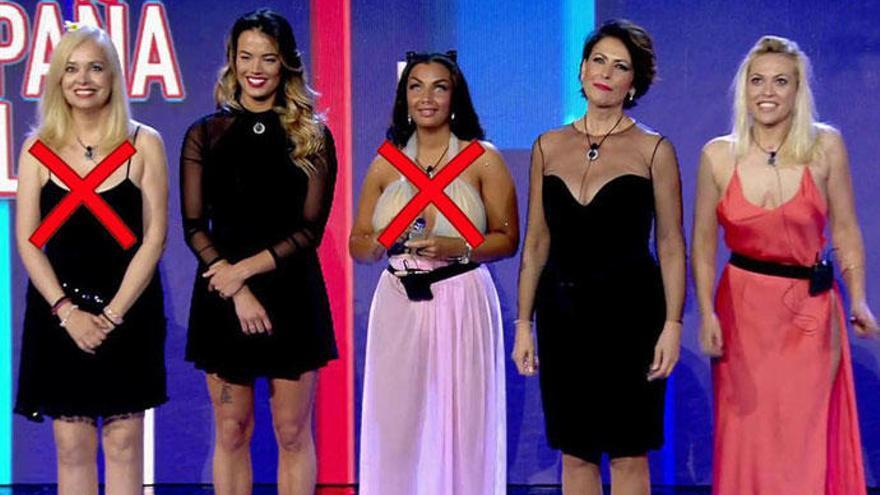 Daniela, Alyson e Irma, las finalistas de 'GH VIP 5'