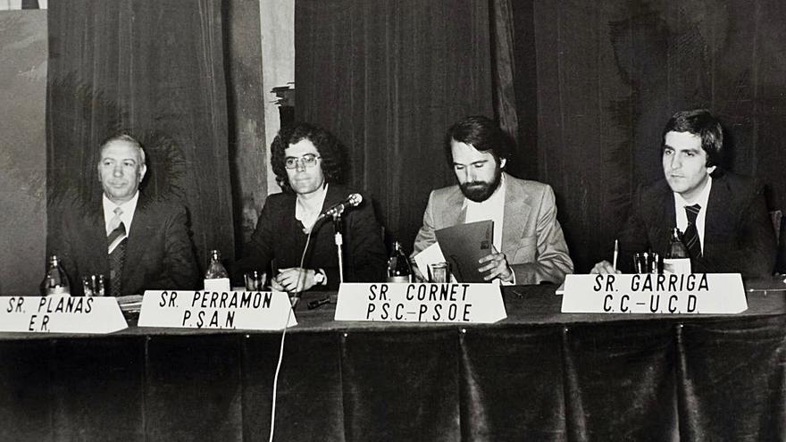 El primer debat electoral a Manresa es pot escoltar i llegir 42 anys després