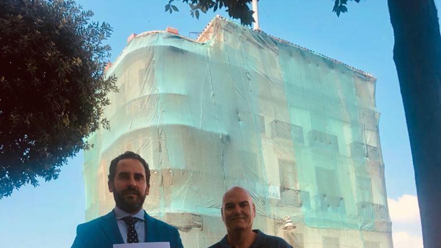 Daniel Pérez pide a la Junta la protección integral para el edificio de La Mundial