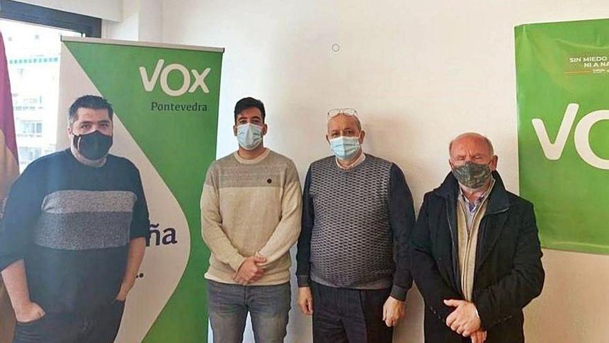 Polémica en Tui al vincular al presidente de los comerciantes con Vox