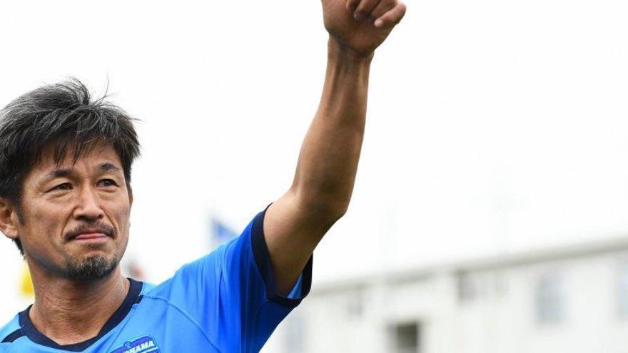 El legendario Kazu Miura renueva contrato y jugará en la J1 a los 54 años