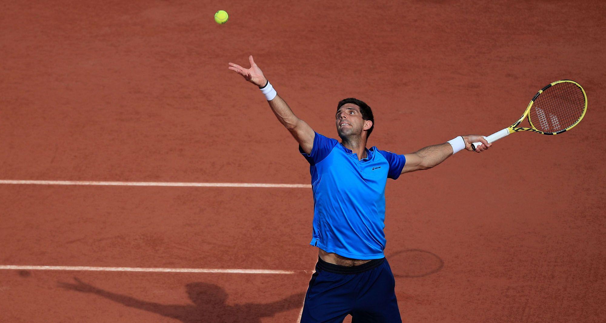 Las imágenes de los octavos de final de Roland Garros entre Alejandro Davidovich y Federico Delbonis