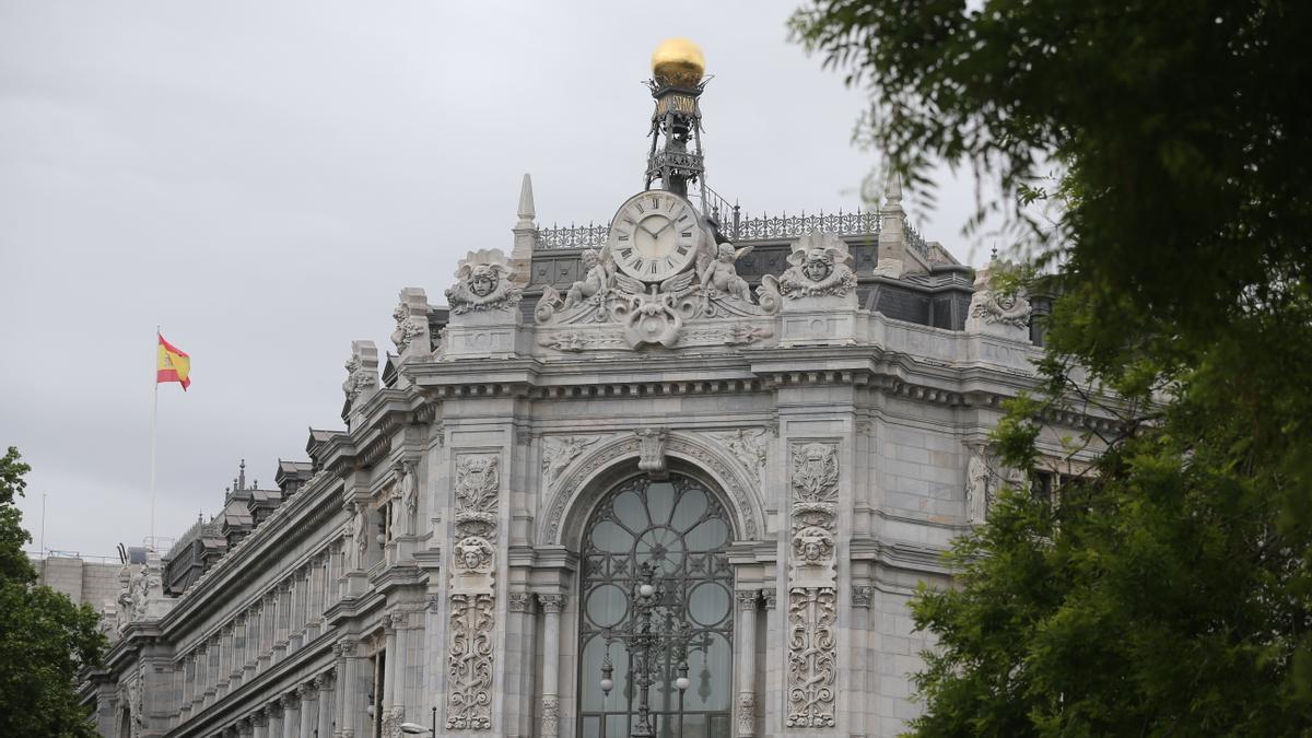 Cúpula de la sede del Banco de España.