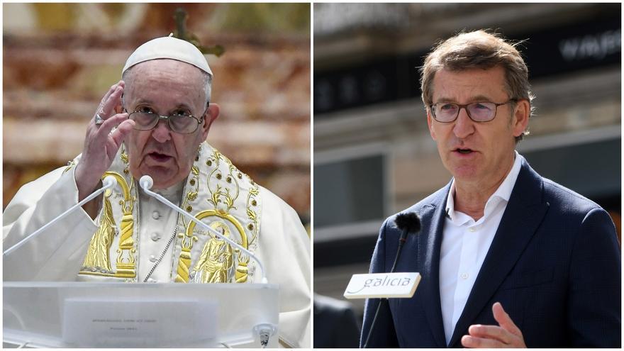Feijóo se reunirá con el papa Francisco el día 14 de junio