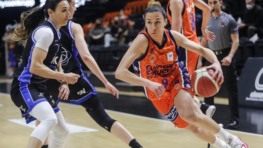 Calendario del Valencia Basket para la Liga Femenina Endesa 2021-2022