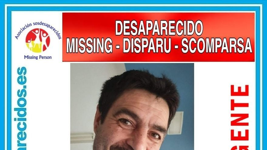 Piden colaboración para buscar a un hombre de 45 años desaparecido