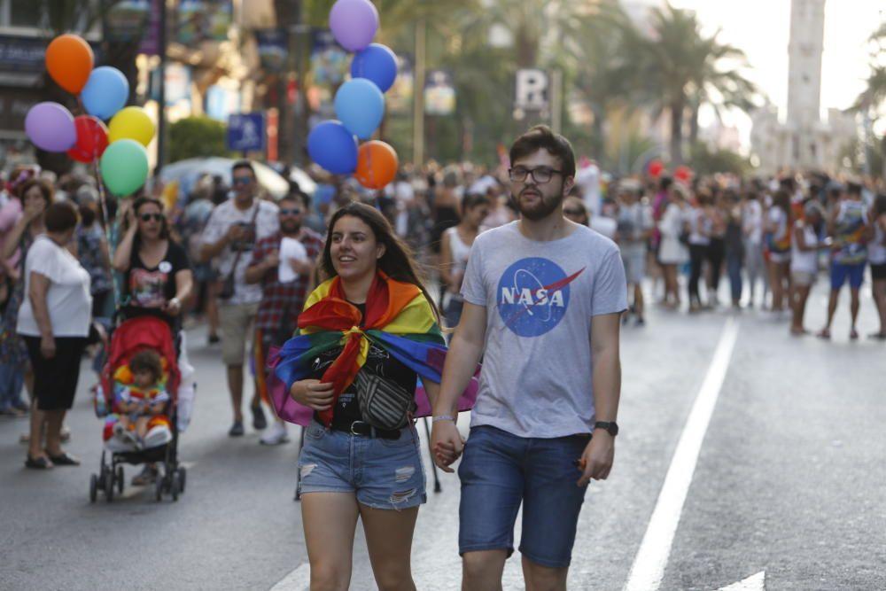 Manifestación del Orgullo en Alicante 2018