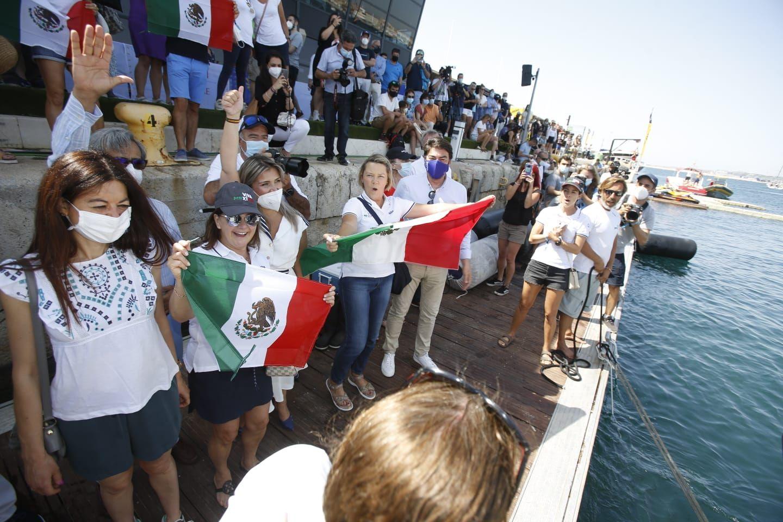 La flota de la Ocean Race Europe deja Alicante rumbo a Génova
