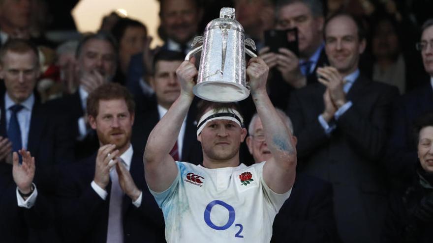 Inglaterra revalida el título de Seis Naciones de Rugby