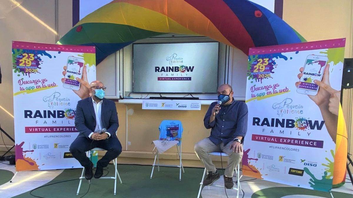 Presentation of Little Brave's Rainbow Family Race.