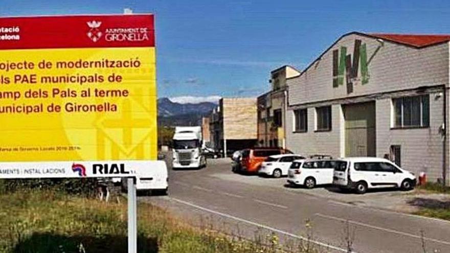 Gironella connectarà dos polígons industrials a la xarxa de clavegueram