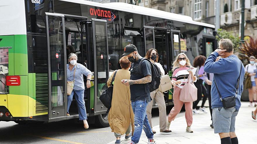 Vitrasa recupera un millón de viajeros hasta agosto, pero sigue lejos de 2019