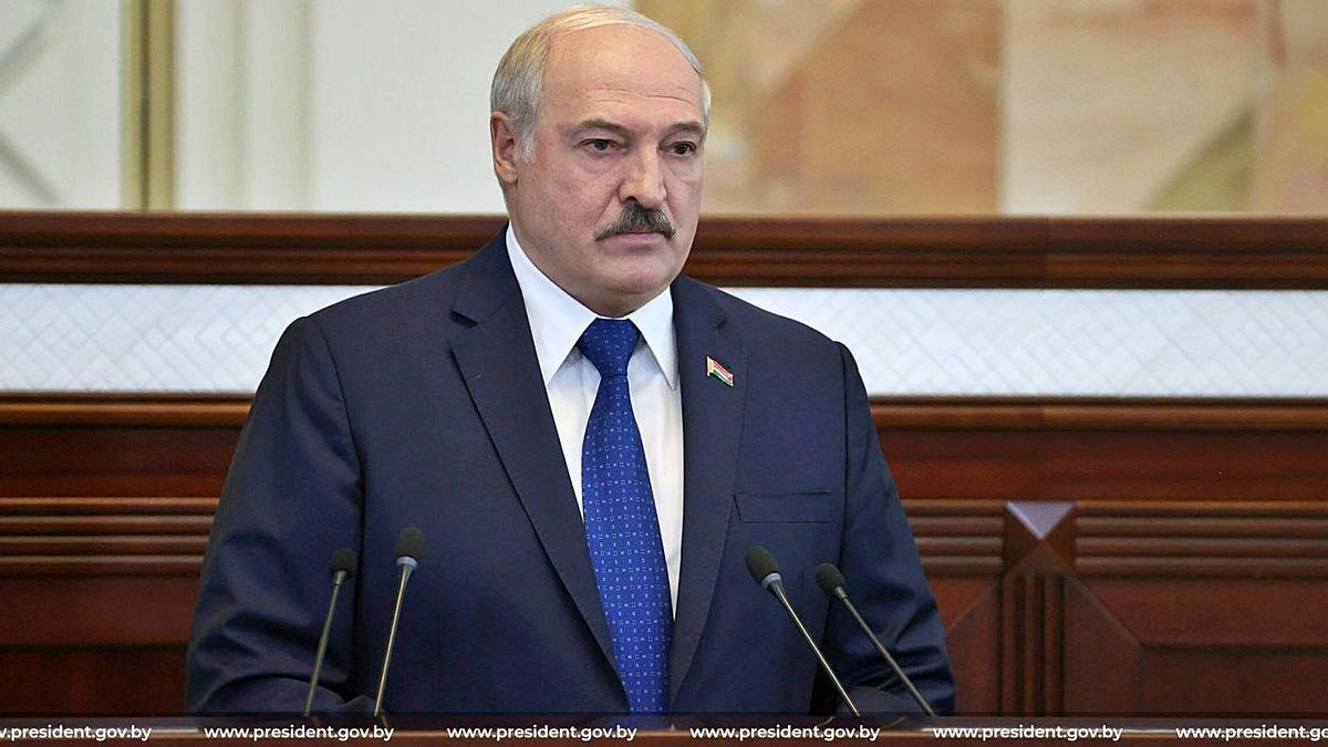 Lukaixenko va justificar l'incident amb l'avió de Ryanair. | REUTERS