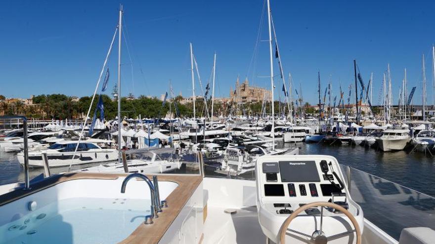 Palma acoge la primera feria náutica presencial tras el covid