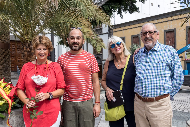 Ofrenda floral a Cristóbal Colón 2021