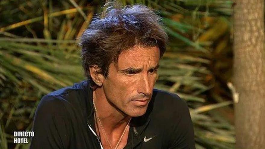 Hugo Sierra ve conspiración contra él en 'Supervivientes' y Jorge Javier se enfada