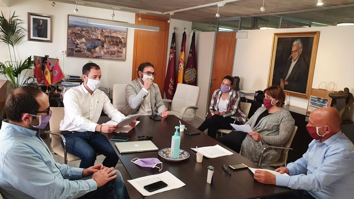 Batería de ayudas y medidas en Lorca para tratar de volver a la normalidad