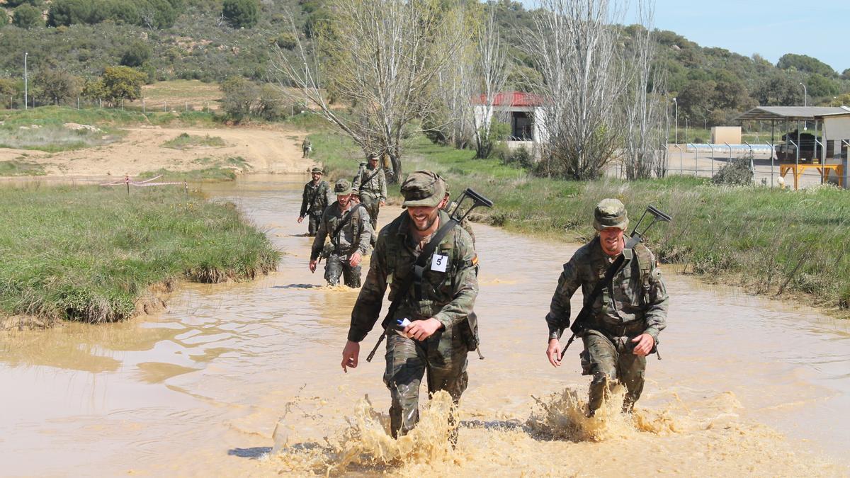 Ejercicios de la Brigada X.