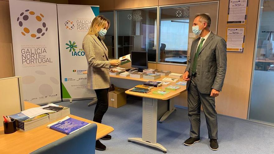 Fernández-Tapias se reúne con el director de la GNP-AECT