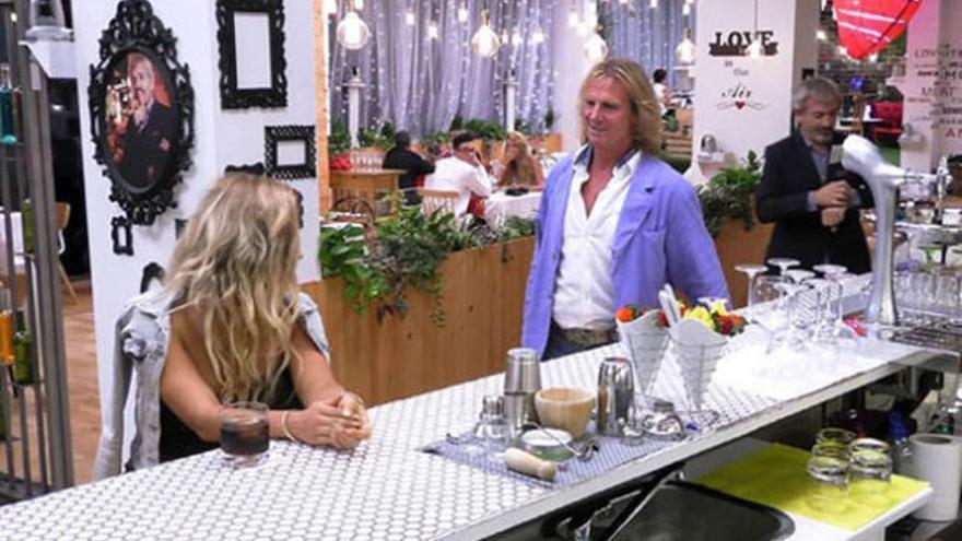 Pocholo revoluciona el restaurant de l'amor de 'First dates'