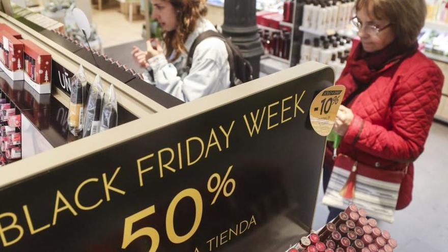 """El """"black friday"""" generará 510 empleos en Asturias"""