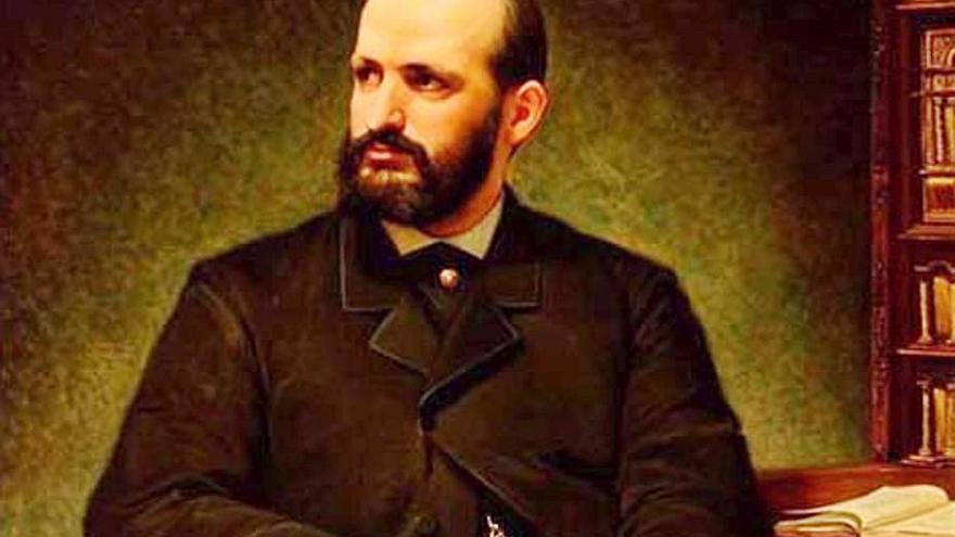 Pedro Antonio de Alarcón en Alicante