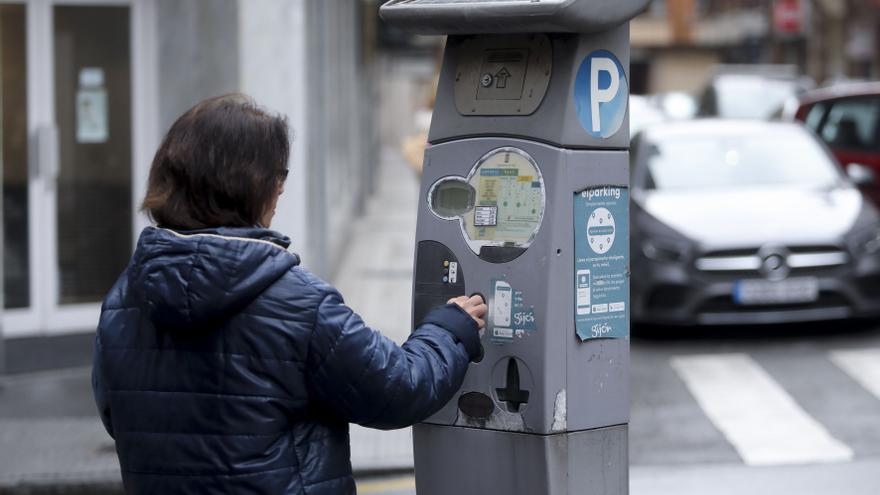 La ocupación de los aparcamientos en la zona azul, al 75% de antes de la pandemia