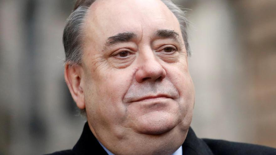 Alex Salmond, ex ministro principal de Escocia, acusado de dos intentos de violación