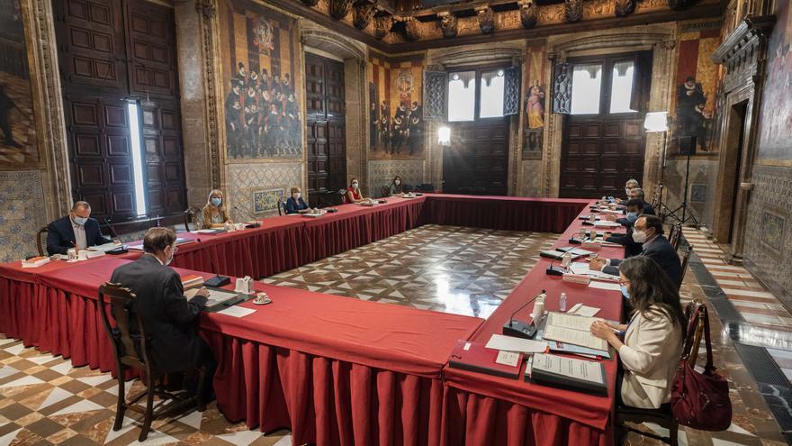 La polémica por los disturbios en las protestas por Hasél llega al pleno del Consell