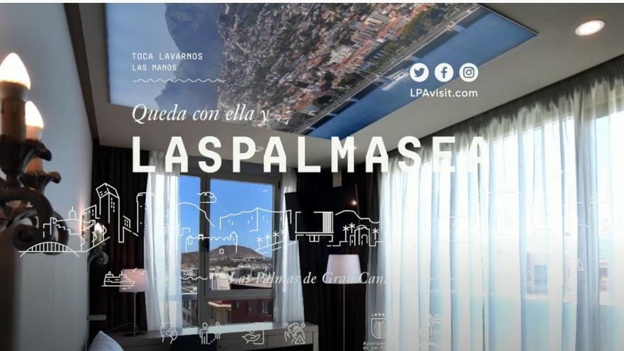 Las Palmas de Gran Canaria difunde en sus redes sociales los atractivos de los hoteles de la capital