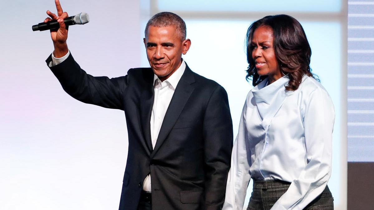 Barack y Michelle Obama, en una imagen de archivo