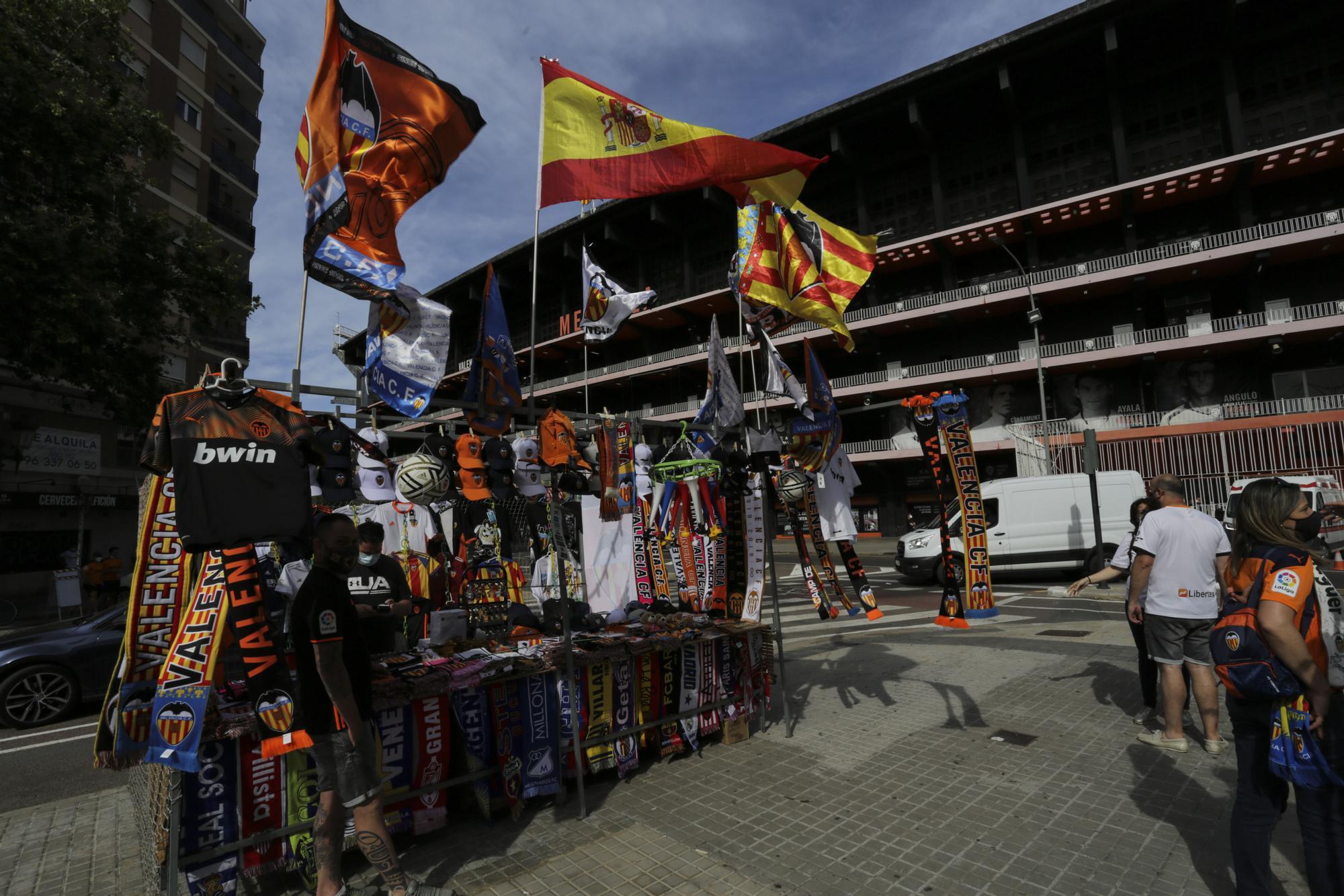 Así ha sido la vuelta del público a Mestalla