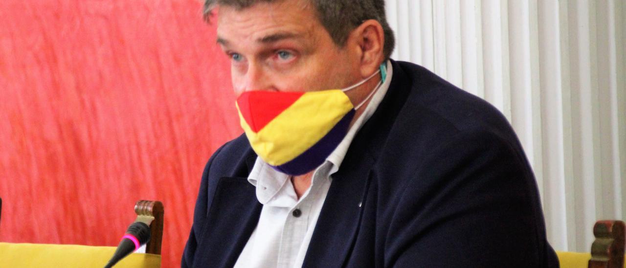 El concejal de Urbanismo, Javier Doreste