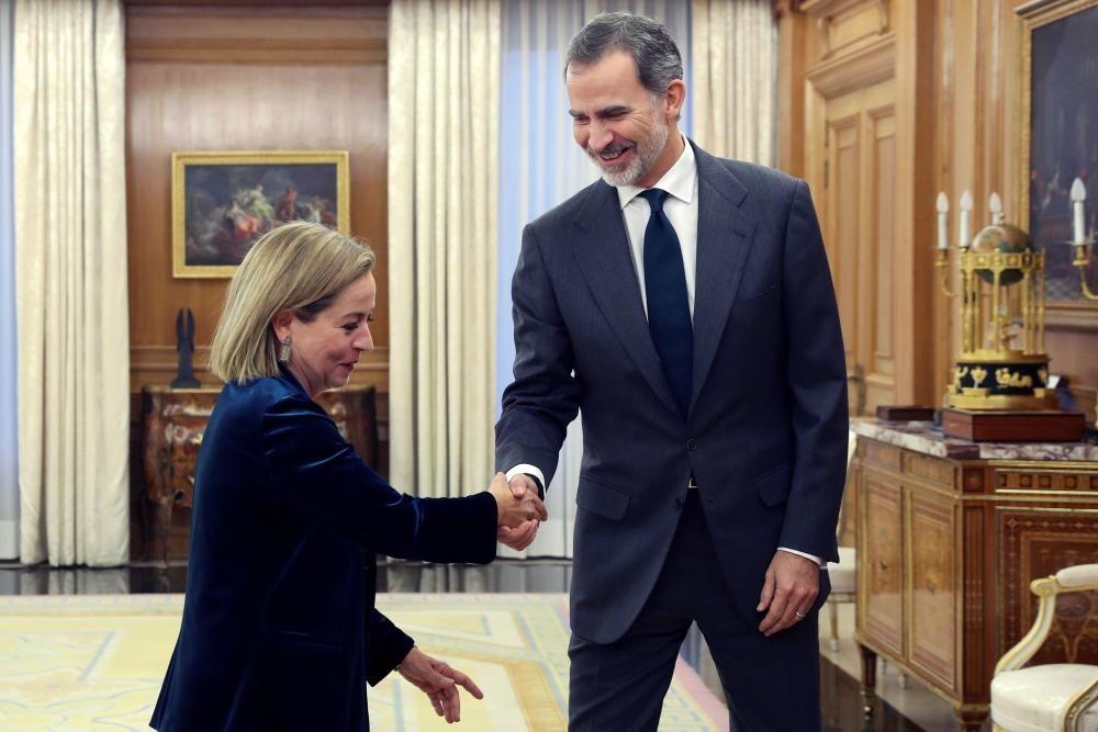 Ronda de consultas: Felipe VI se reúne con Oramas
