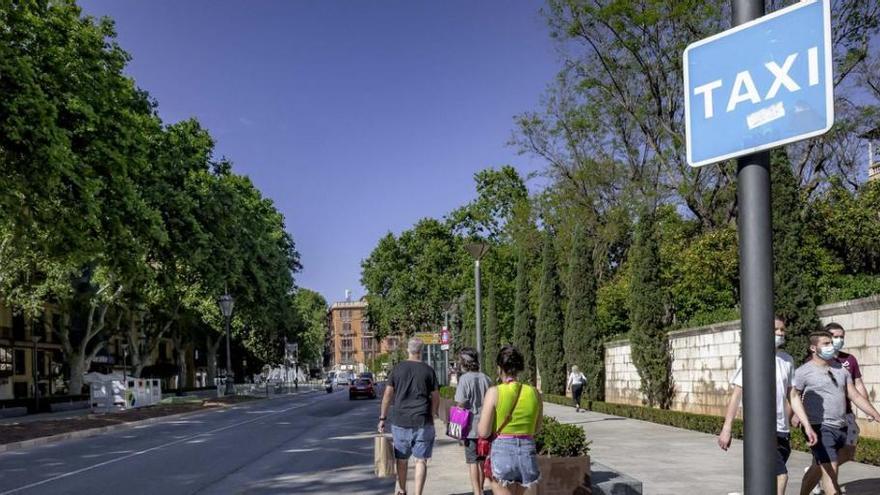 Urlauber-Andrang lässt Taxis in Palma de Mallorca knapp werden
