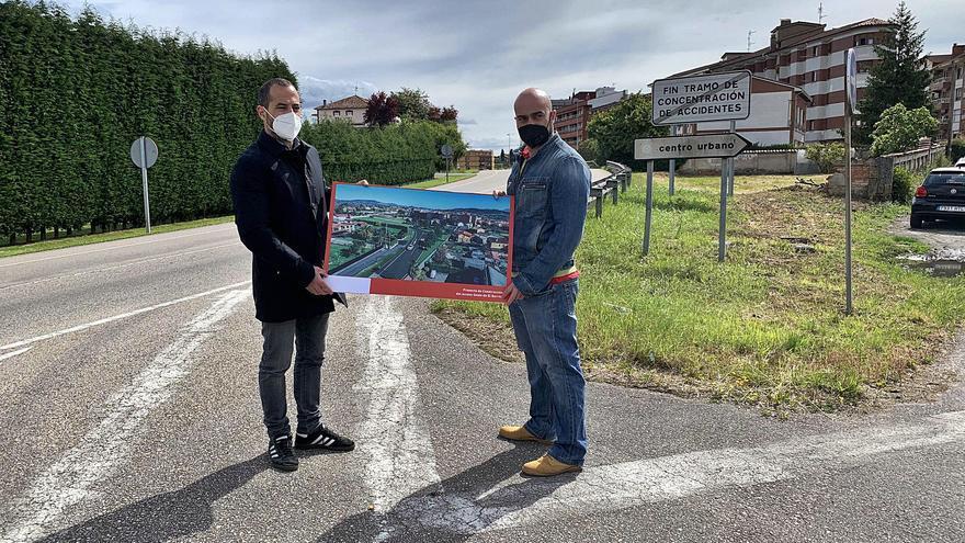 Siero destina 429.000 euros adicionales a la senda Lugones-la Pola y otras obras