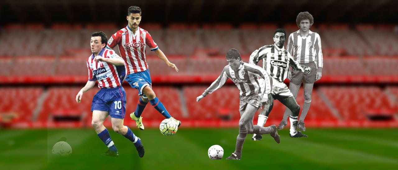 PORTADA: Futbolistas gijoneses