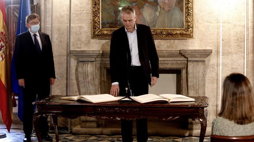 """Illueca toma posesión como nuevo vicepresidente: """"Vengo a fortalecer la unidad del Botànic"""""""