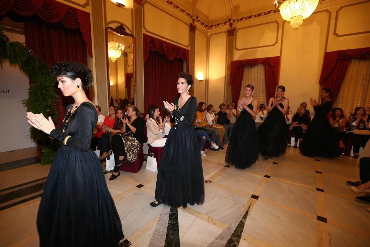 Desfile de Higinio Mateu y Joyería Font en el Casino