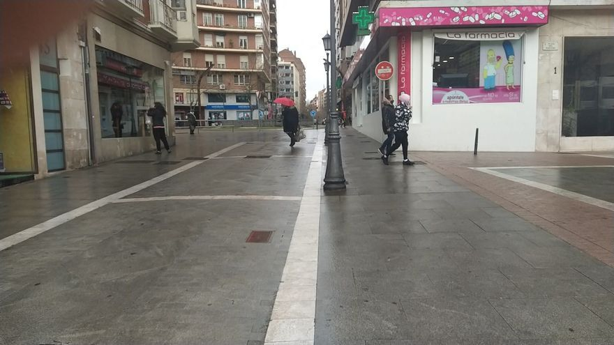 Borrasca Gaetan en Zamora | La lluvia arrecia a partir de mediodía