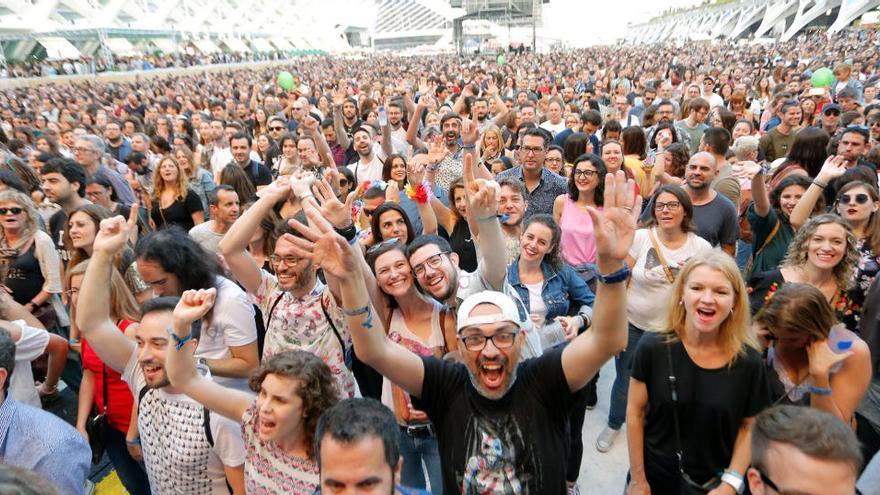 El Festival de les Arts se aplaza al mes de octubre