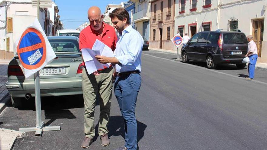 El Consistorio destina 637.000 euros al asfaltado de calles