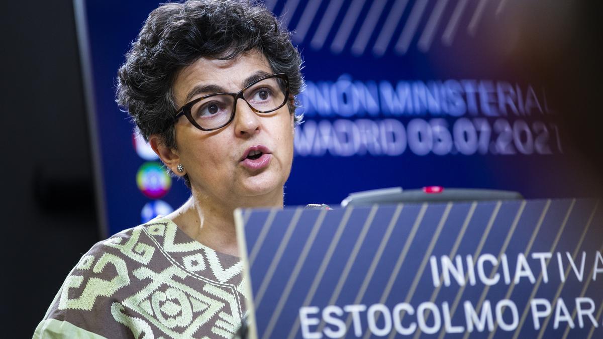 La exministra Arancha González Laya.