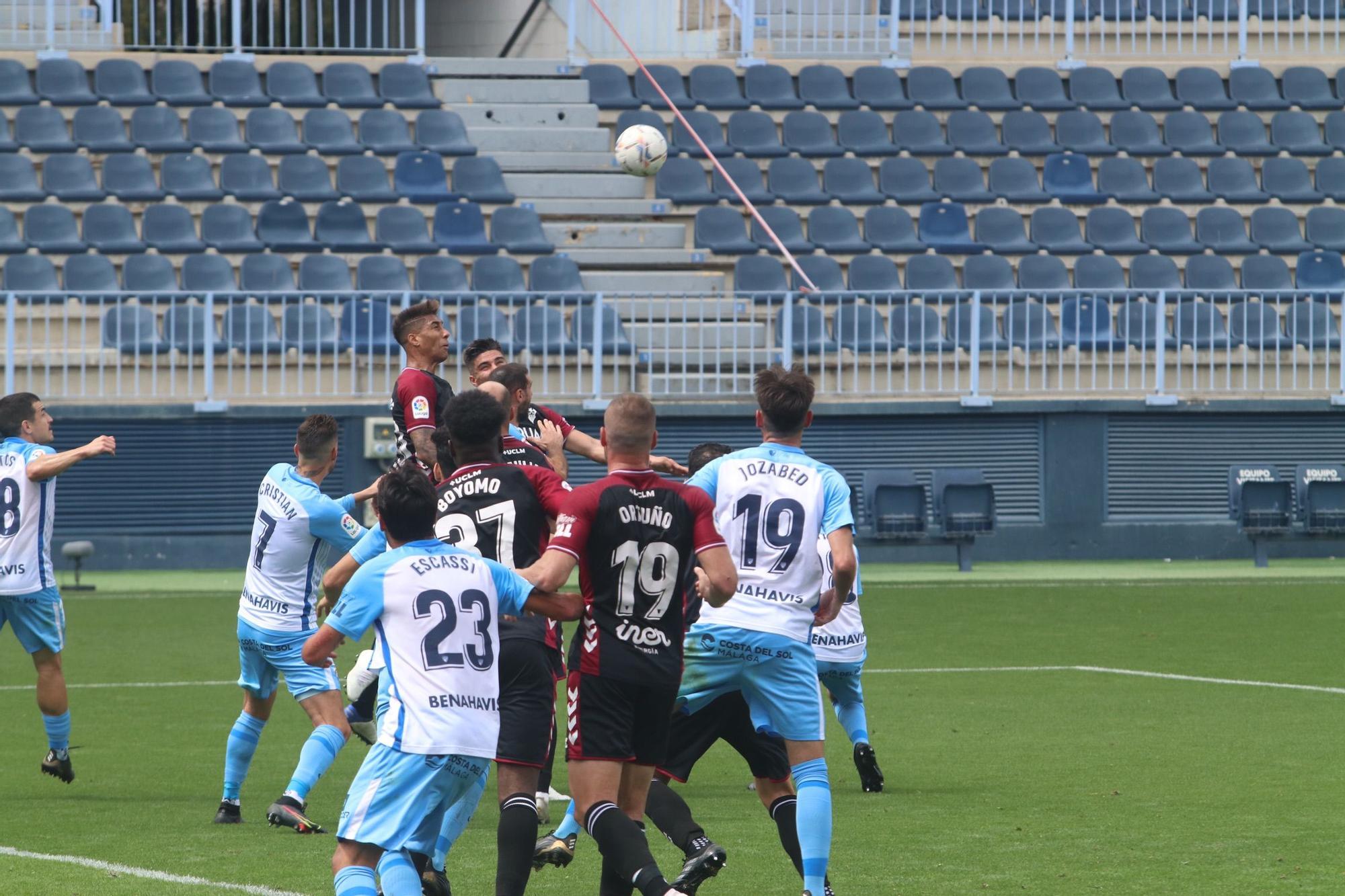 Las imágenes del Málaga CF - Albacete Balompié de LaLiga SmartBank